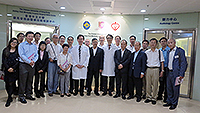Delegates from Macau Science and Technology Development Fund visits the Jockey Club Minimally Invasive Surgical Skills Centre, CUHK
