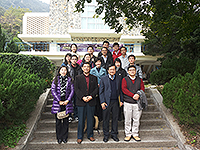 OALC organises irregular gatherings for visiting scholars and students