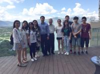 Group photo taken with participating students from CQMU, Prof. Chan Wai-yee (middle) and Prof. Zhao Hui (5th from left)