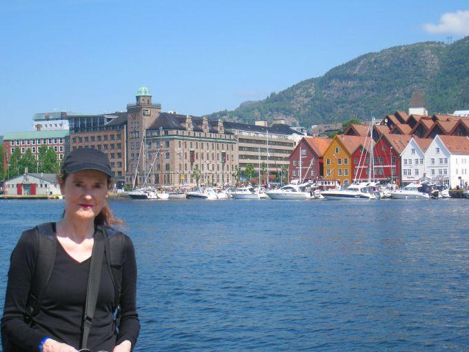 Professor Jackson in Bergen, Norway