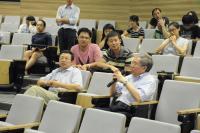 Snapshots taken during the Talk